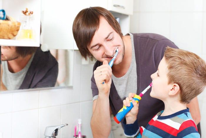 teeth brushing tricks 1
